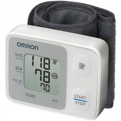 Tensiómetro automático de muñeca OMRON RS2 | Medición precisa | Más cómodo | Perfecto para particulares| Diresa Device - FedBuy