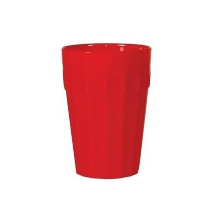 FedBuy: todo para tu residencia | Vajilla de plástico irrompible | Vaso de 256 ml color rojo