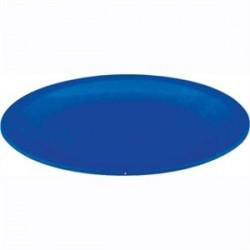Plato de policarbonato de 17 cm | Irrompible | Color azul | Perfecto para comedores escolares, centros de día o residencias