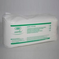 Gasa No Estéril | Tejido sin tejer | Dimensiones 20x20 | Absorbente, curar y desinfectar | Diresa Device - FedBuy