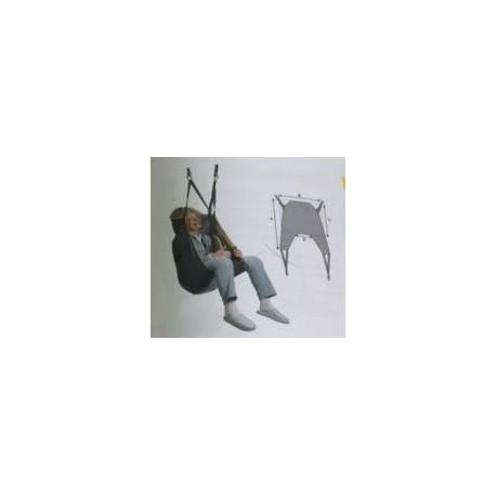 Arnés formato hamaca | Universal | Para grúa de transferencia | Sujeta tronco y cabeza | FedBuy: todo para grúas
