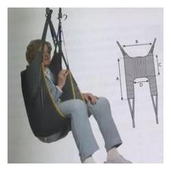 Arnés de eslinga | Para grúa de transferencia | Posición sentado | Todo sobre grúas de traslado y bipedestación FedBuy