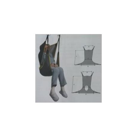 Arnés para grúa de transferencia | Sentado | Comodidad | Opción de orificio para baño | Todo para residencias y particulares