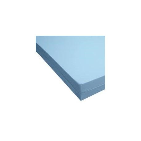 Funda para colchón | Color azul sanitario | Tejido de poliuretano | FedBuy: suministros para residencias y el hogar