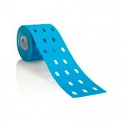 Kinesiotape Curetape Punch | Color Azul | Perforaciones para mayor elasticidad | Más efectivo | Diresa Device-FedBuy