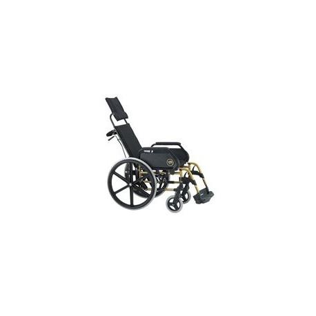 Silla de ruedas Breezy 250   Respaldo reclinable   Comodidad, seguridad y robustez   Mejora postura   Ortopedia online: FedBuy