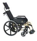 Silla de ruedas Breezy 250. Respaldo reclinable
