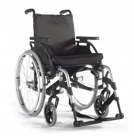 Basix2| Sunrise Medical| Aluminio| Centro de gravedad y profundidad de asiento ajustable| FedBuy: Las mejores sillas de ruedas