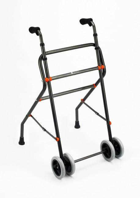 Diresa Device - FedBuy: Andador de aluminio para personas mayores de Sunrise Medical. Con ruedas y empuñadura ergonómica.