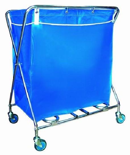 Carro para recoger y transportar ropa | Bolsa gran tamaño | Estructura de acero | Proveedores para residencias: FedBuy