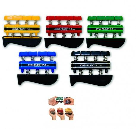 Ejercitador de dedos Digiflex | Recupera movilidad y ejercita músculos | Varios Colores y Resistencias | Diresa Device - FedBuy