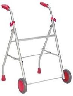 Andador ligero aluminio con 2 ruedas