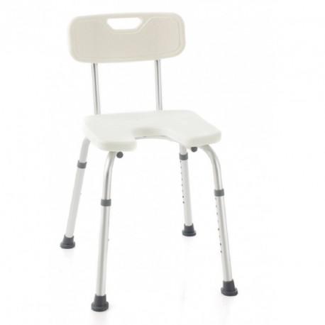 Silla de ducha para personas mayores o discapacidad | Asiento en herradura, mejor higiene |Ayudas para el baño, en FedBuy