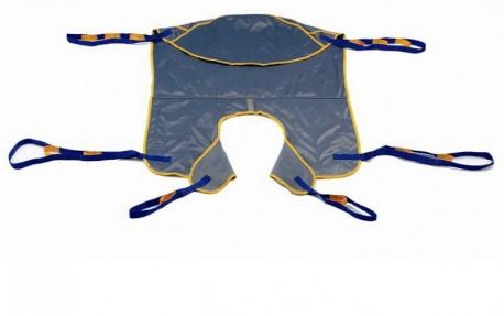 FedBuy: Arnés acolchado para grúas de traslado   Soporte para cabeza   Sunrise Medical   Formato de lujo   Geriatría y ortopedia