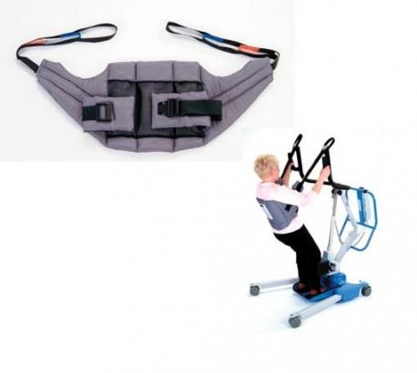 Arnés para grúa de bipedestación de Sunrise Medical | Posición erguida | Seguridad y confort | Todo sobre grúas de bipedestación