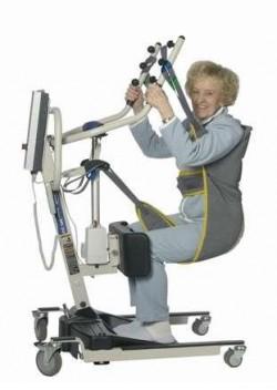 Arnés eslinga para grúa de bipedestación | Postura sentado | Los mejores arneses para grúas sanitarias en Diresa Device - FedBuy