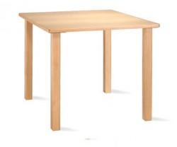 Mesa de comedor   Fabricada en madera   Color de madera elegir   Mobiliario para hogar y centros sanitarios