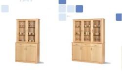 Alacena de madera   Parte superior vitrina e inferior armario   Elige tu configuración   Mobiliario con Diresa Device - FedBuy