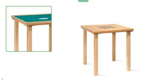 Mesa de juegos | Fabricada en madera | Perfecta para recreo en hospitales o residencia | Para bares | Diresa Device - FedBuy