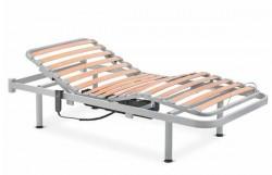 Somier eléctrico articulado 4 planos patas arriostradas