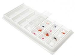 Blister de medicación diaria | Compatible con bandeja | Varios compartimentos | Diresa Device: material geriátrico