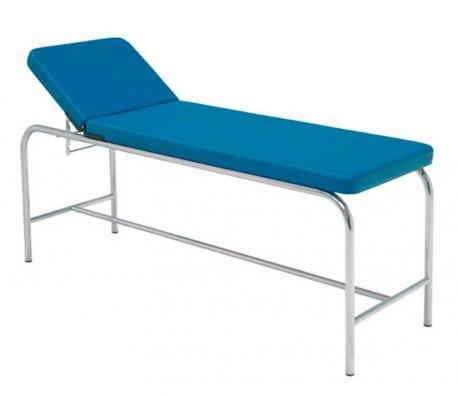 Camilla fija | Estructura de acero | Cabecero reclinable | Espuma de alta densidad |Amuebla tu consulta | Diresa Device