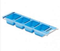 Set semanal dispensadores pequeños con 4 compartimentos y tapa