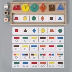 Six Master - Formas, Colores, Cantidad