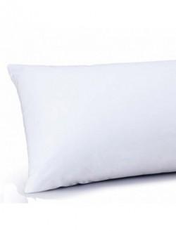 Funda almohada | Para cama de 90 | Colores blanco y celeste | FedBuy: juegos de cama particular y residencia