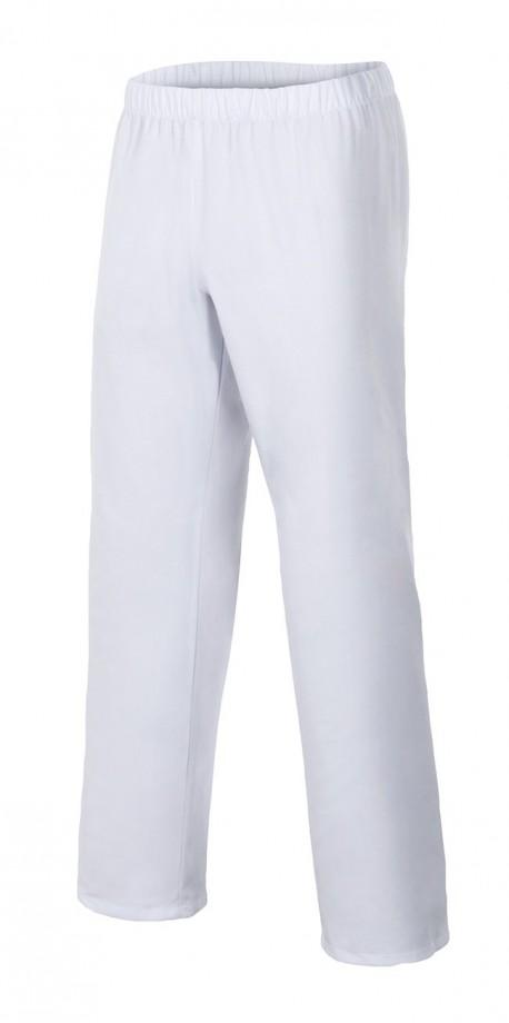 Pantalón sanitario blanco con goma