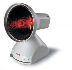Lámpara de Infrarrojos | Modelo sobremesa | 150 W | Fisioterapia y estética | Diresa Device - FedBuy