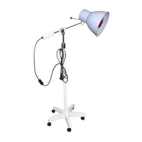 Lámpara de infrarrojos Foco 3000 INFRA   250 W   Brazo articulado para enfocar calor   Base rodable   Diresa Device