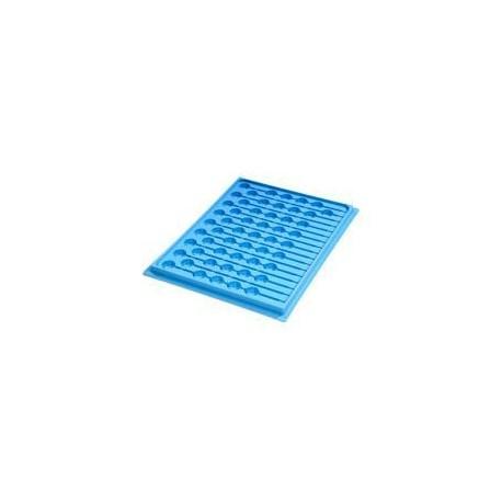 Bandeja de medicación mod. 51 | 17 Blísteres + 53 vasitos | Gran Capacidad | Para hospital o geriátrico | Diresa Device