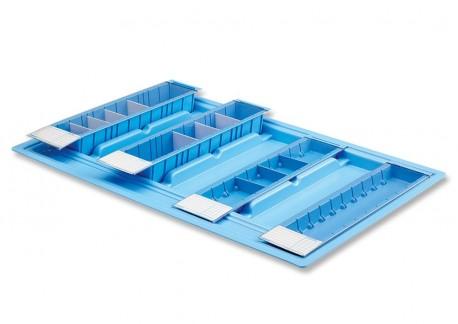 Bandeja de medicación semanal | 7 blísteres | Bandeja medicación en residencia geriátrica | Diresa Device: Material Geriátrico