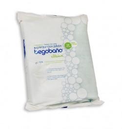 Esponja Jabonosa Begobaño BB1 | Impregnadas con gel hipoalergénico | Caja de 3000 uds | Diresa Device - FedBuy