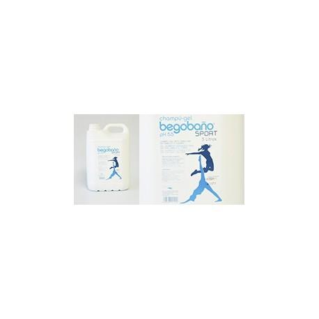 Champú-Gel Begobaño BGT Sport | Perfecto para deportistas | Envase 5 Litros | Diresa Device - FedBuy