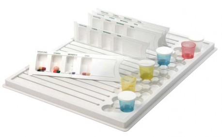 Bandeja de medicación diaria | Blíster y vasitos | Para hospital, clínica o residencia | Diresa Device - FedBuy