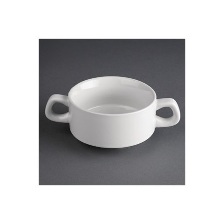 Tazón para cremas o consomé | Vajilla de porcelana | Perfecta para residencias | FedBuy: proveedor de centros sanitarios