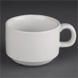 Taza de porcelana desayuno | Apilable | FedBuy: suministros para hostelería y residencias. Proveedor con experiencia