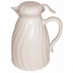 Jarra térmica| Mantén caliente tu bebida antes de servir|Color blanco |FedBuy: suministros sanitarios, geriátricos y auxiliares