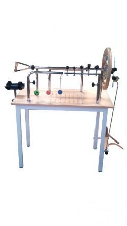 Mesa para ejercicios de manos y dedos con pedal