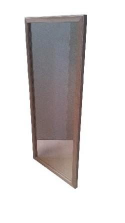 Diresa Device - FedBuy: Espejo fijo de luna lisa. Para anclar a pared.