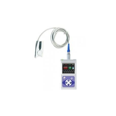 Pulsioxímetro CMS60D | Uso médico profesional | Sondas intercambiables | Sensor adulto incluido | Diresa Device - FedBuy