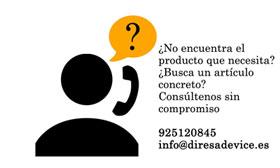 Diresa Device / FedBuy ¿No encuentras lo que necesitas?¿Buscas algo en concreto y no está en nuestra web? Llámanos al 920 120 845 o escribe a info@diresadevice.es