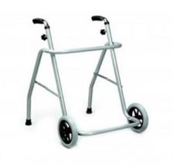 Andador Clásico con ruedas delanteras   Estructura de acero   Andadores y rollators para adultos en FedBuy