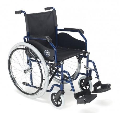 Silla de ruedas Breezy 90   Color azul   Ortopedia Online: sillas al mejor precio   Particulares y residencias