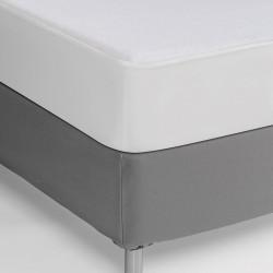 Protector de colchón impermeable   Tejido de rizo reforzado con PVC   Extremos elásticos para mejor ajuste   FedBuy