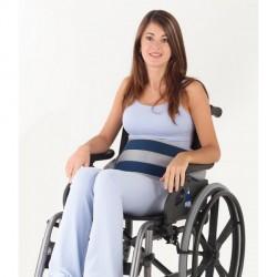 Sujeción a silla de ruedas | Cinturón abdominal | Cierre magnético | Todo tu material ortopédico para particular o residencia