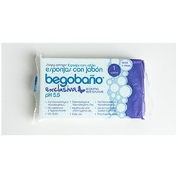Esponja Begobaño mod. BS-8. 7,5x13x2,5 cm Caja 1200 unid