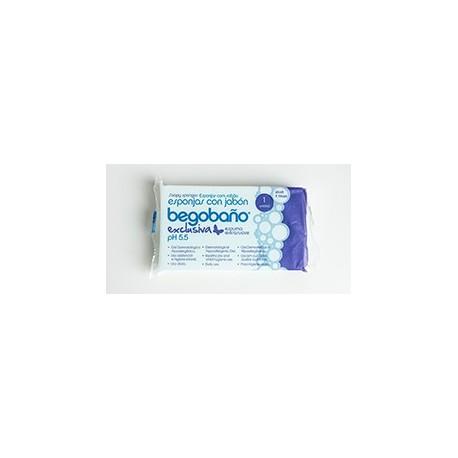Esponja Begobaño con Gel modelo BS-8 | Uso hospitalario | Caja de 1200 unidades | Diresa Device - FedBuy
